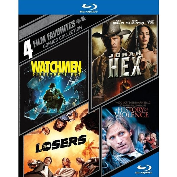 4 Film Favorites: Comics Collection (Blu-ray Disc) 12630408