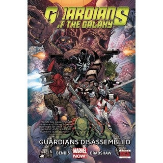 Guardians of the Galaxy 3: Guardians Disassembled (Hardcover)