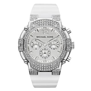 Michael Kors Women's MK5509 'Gemma' Silvertone Watch