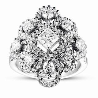 Eloquence 14k White Gold 1 5/8ct TDW Diamond Cocktail Ring (H-I, SI3)