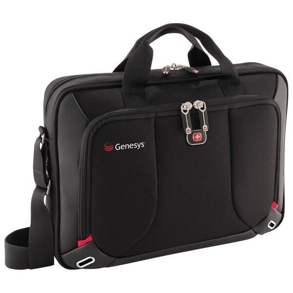 """Wenger Platform Carrying Case (Sleeve) for 16"""" Notebook - Black"""