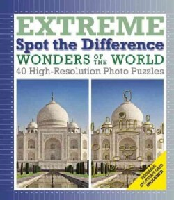 Wonders of the World: Extreme Spot the Difference (Hardcover)