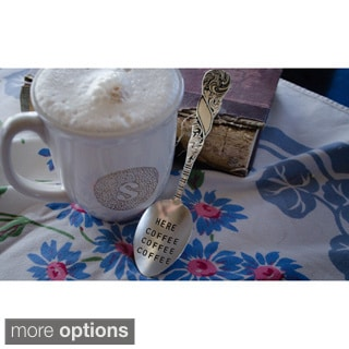 Vintage Stamped Coffee Spoon