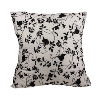 Black on White Soaring High Pillow Cover (Bangladesh)