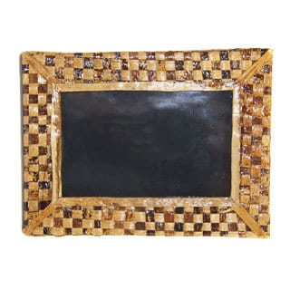 Banana Fiber Checker Pattern Picture Frame (Kenya)