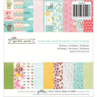 Garden Party Paper Pad 6 X6 36/Sheets -