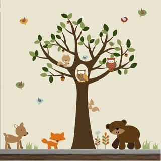 Forest Wall Decal Set
