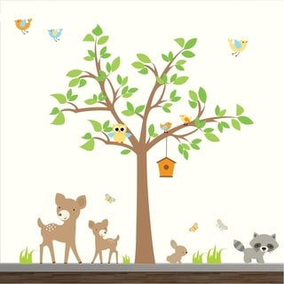 Nursery Forest Decal Set