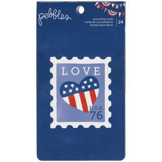 Americana Journaling Cards 24/Pad -