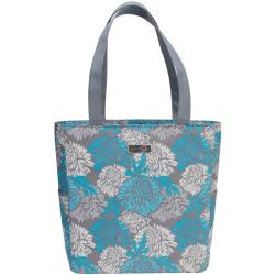 Everything Mary Scrapbook Shoulder Tote - 15 x18 x5 Blue & Gray