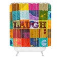 Elizabeth St. Hilaire Nelson Laugh Shower Curtain