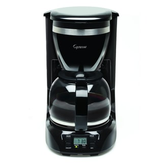 Capresso 424.01 12-Cup Drip Coffee Maker with Glass Carafe - Black