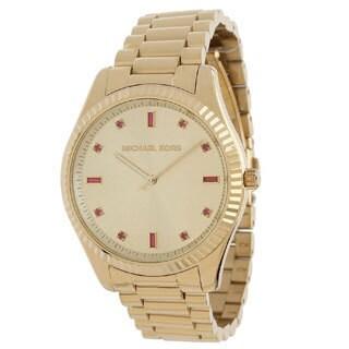 Michael Kors Women's Blake MK3246 Goldtone Stainless Steel Watch
