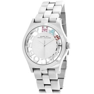 Marc Jacobs Women's MBM3262 Henry-Skeleton Silver Watch