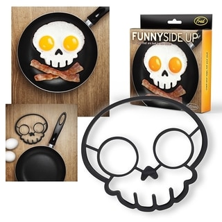 Fred & Friends Funny Side Up Skull Egg Corral