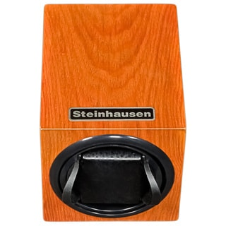 Steinhausen 12-mode Single Orange Wood Grain Watch Winder