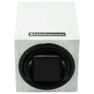 Steinhausen 12-mode Single White Wood Grain Watch Winder