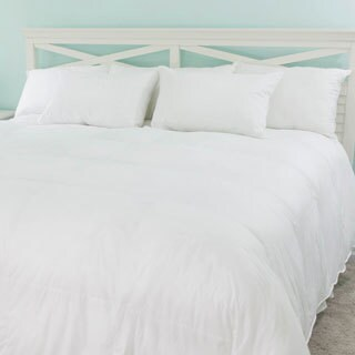 Dorchester Luxury 800 Fill Power German Batiste White Goose Down Comforter