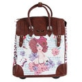 Nicole Lee Stylish Girl Rolling Business Special Print Edition Tote