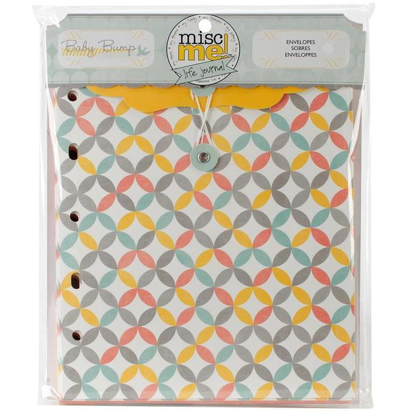 Misc Me Envelopes - Baby Bump
