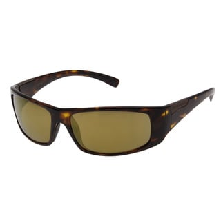 Serengeti Men's 'Fasano' Dark Tortoise/ Gold Polarized Driver Sunglasses