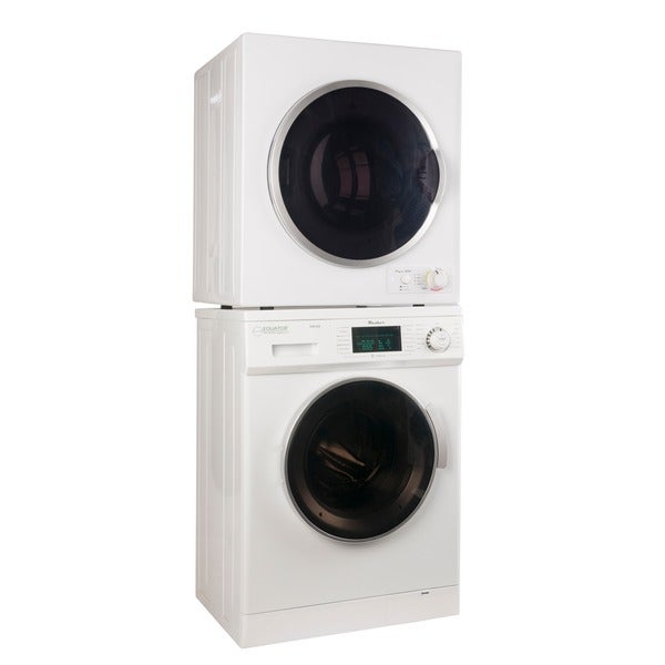 Equator White Stacking Washer and Dryer
