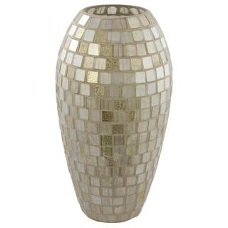 Mosaic Tall Decorative Vase