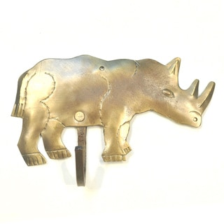 Handmade Metal Rhino Hook (India)