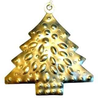 Handmade Metal Tree Ornament (India)