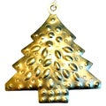 Handmade Metal Tree Ornament (India)