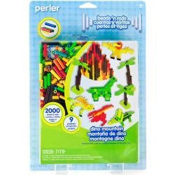Perler Fun Fusion Fuse Bead Activity Kit - Dino Mountain