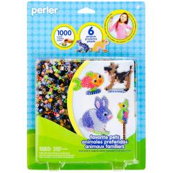Perler Fun Fusion Fuse Bead Activity Kit - Favorite Pegs