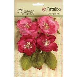 Botanica Blooms 4/Pkg - Fuchsia