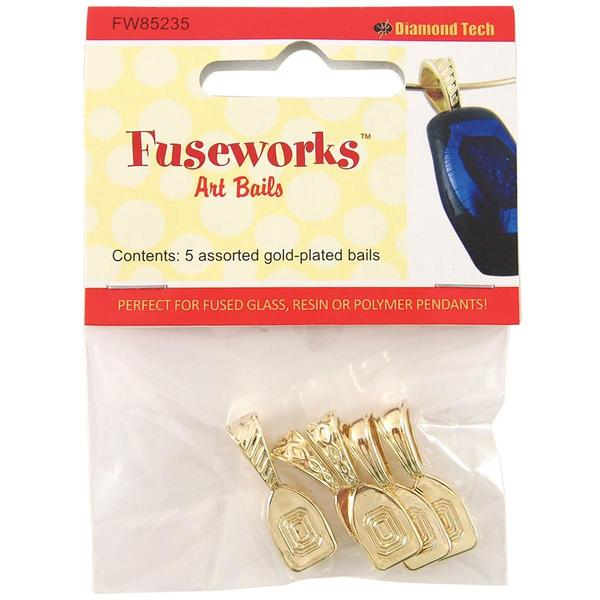 Fuseworks Art Bails 5pc - Gold