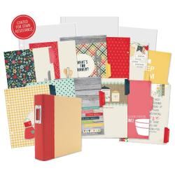Sn@p! Double-Sided Recipe Pages 6 X8 12/Pkg - Homespun