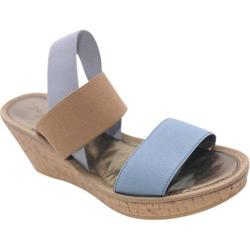 Women's The Flexx Overstep Pale Blue Mix Elastic