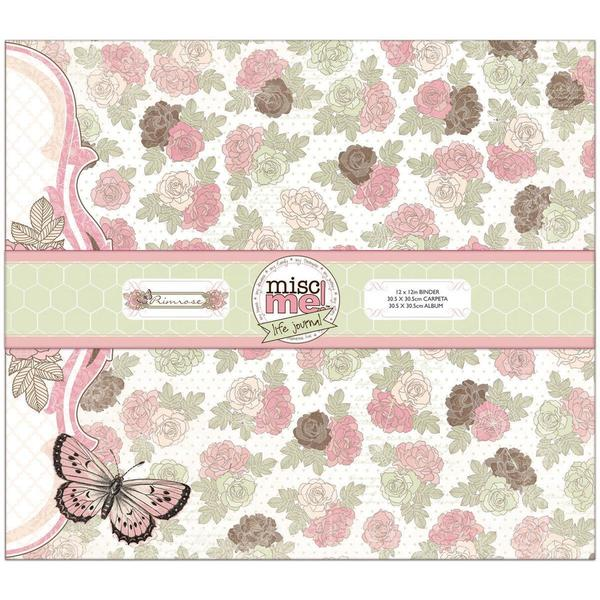 Misc Me Binder Life Journal 12 X12 - Primrose