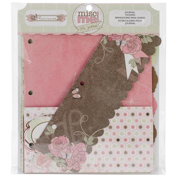Misc Me Journal Dividers - Primrose