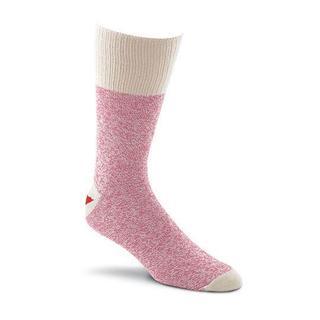 Red Heel Monkey Socks 2pr/Pkg - Size Medium Pink
