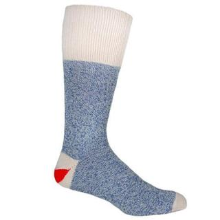 Red Heel Monkey Socks 2pr/Pkg - Size Medium Blue