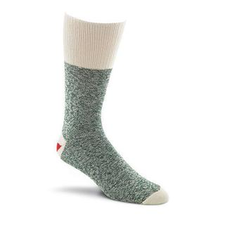 Red Heel Monkey Socks 2pr/Pkg - Size Medium Green