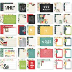 Homespun Double-Sided Card Pack 4 X6 24/Sheets - Sn@p!
