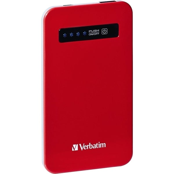 Verbatim Ultra-Slim Power Pack, 4200mAh - Red 12635841