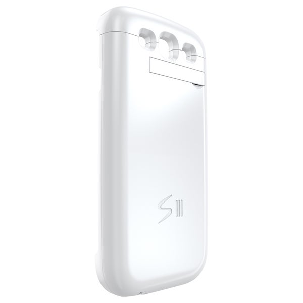 MOTA Samsung S3 Extended Battery Case - White