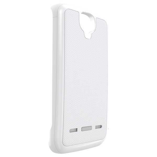 MOTA Samsung S4 Extended Battery Case - White