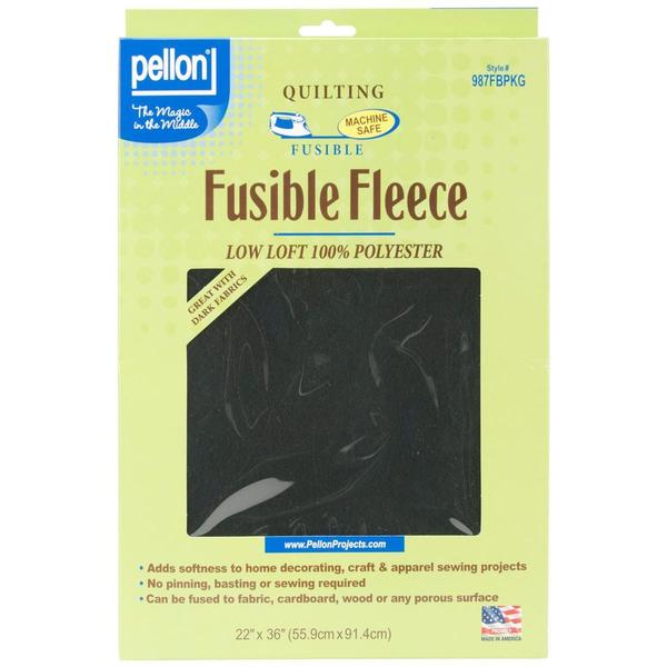 Fusible Fleece 22 X36 - Black