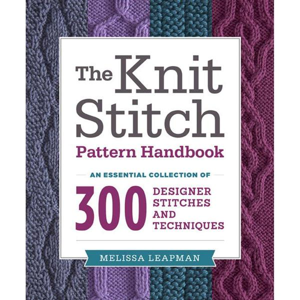 Potter Craft Books - The Knit Stitch-Pattern Handbook
