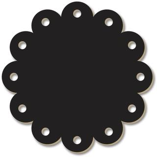 Chalkboard Surfaces - Scallop Circle 12 X18