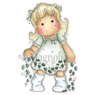 Sweet Dreams Christmas Cling Stamp 6.5 X3.5 Package - Holly Tilda