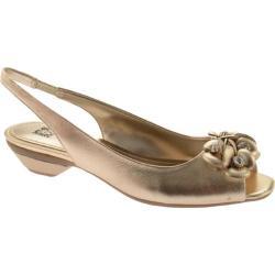 Women's Anne Klein Ludwik Light Gold Leather